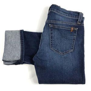 Joe's Jeans Lexington Cropped Cuffed Jeans
